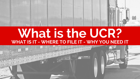 What is the UCR?