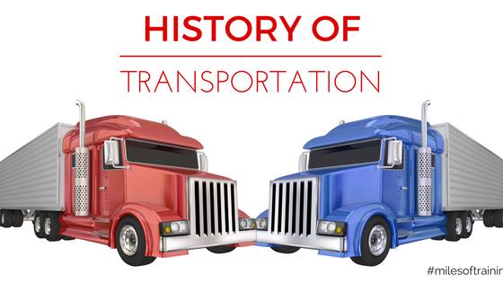 Fun Fact - History of Transportation