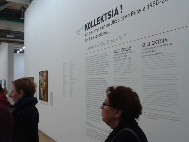 Kollektsia! new-media works production for the group show - Centre Pompidou, Paris, 2016
