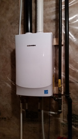 On demand Hot Water