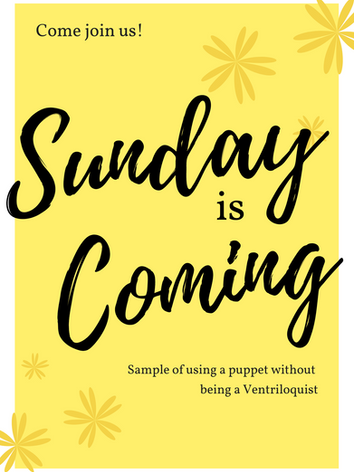 Join us on Sunday!
