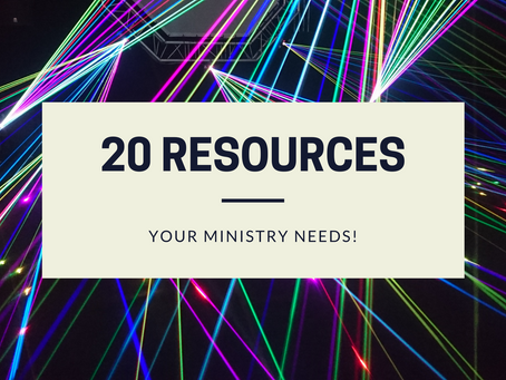 20 Resources Every Children's Ministry Needs!