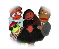 Custom built, professional puppets pictu