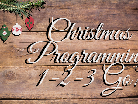 Jingle Bells, Jingle Bells....Yep, It's Almost Time...Are You Ready?!