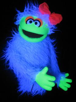 Custom Blacklight Puppet