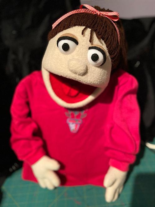 Melinda Girl Puppet