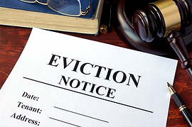 Eviction Legal document fight napa sonoma California