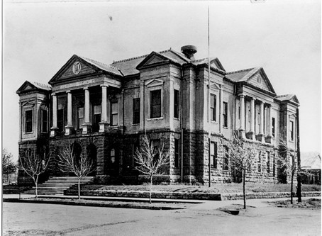 The original Masonic Temple in Guthrie