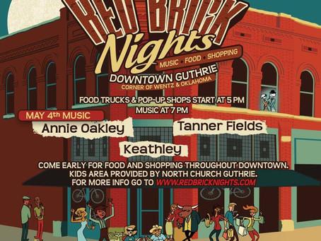 Red Brick Nights kicks off May 4