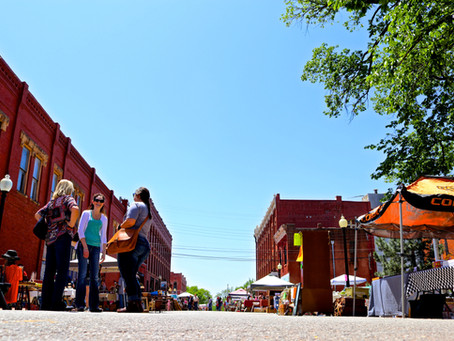 Guthrie Antique and Vintage Market This Saturday