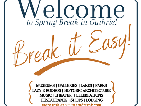 """Break It Easy"" in Guthrie!"