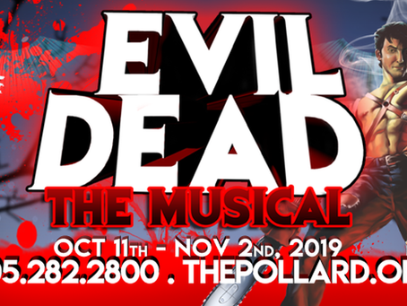 Catch Evil Dead: The Musical at The Pollard Theatre in Guthrie