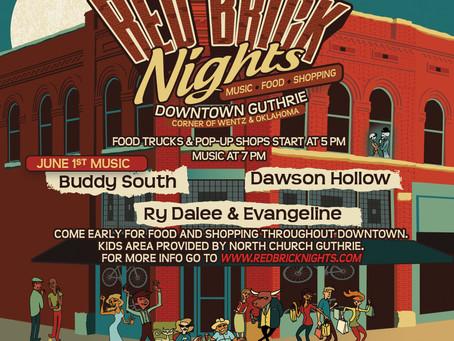 Red Brick Nights This Saturday!