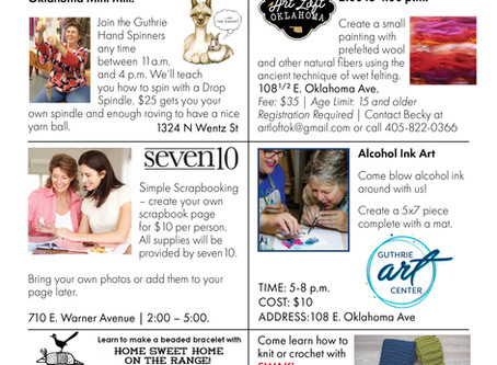 Guthrie Filled With Maker Events This Saturday