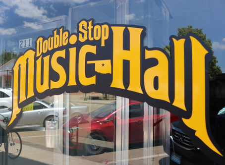 Doublestop Music Hall & Fiddle Shop are open again!