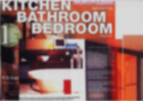 double page spread article in magazine Kitchen Bathroom Bedroom - Julie Kent Interiors. Interior Design Services Bath London Wiltshire