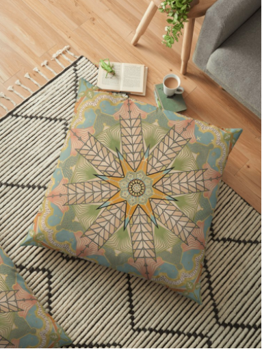 Design Floor Pillow