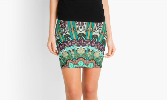 Balance Mini Skirt