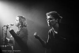 1ère partie Gemma du concert du groupe Les Innocents au 109, Montluçon