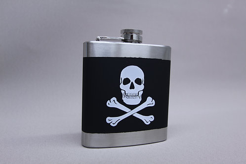 Skull and Cross Bones Flask