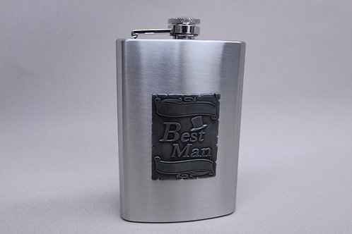 """Best Man"" Flask"