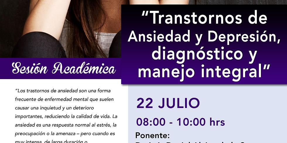 Transtorno de Ansiedad y Depresión, Diagnóstico y manejo integral