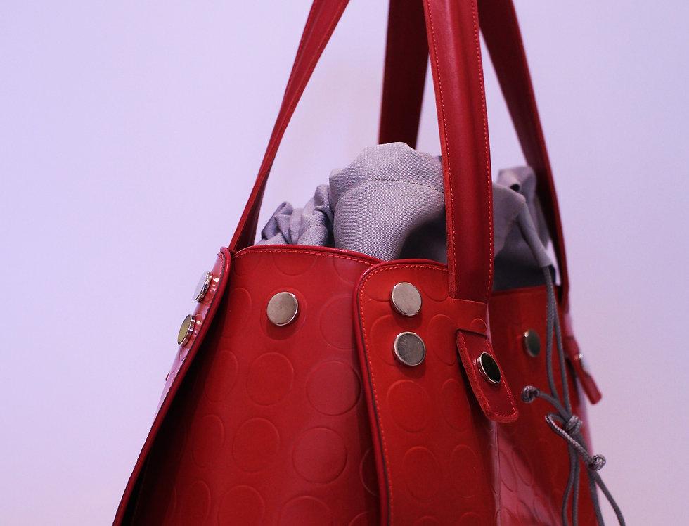 PattyBag grande Rossa bordo rosso