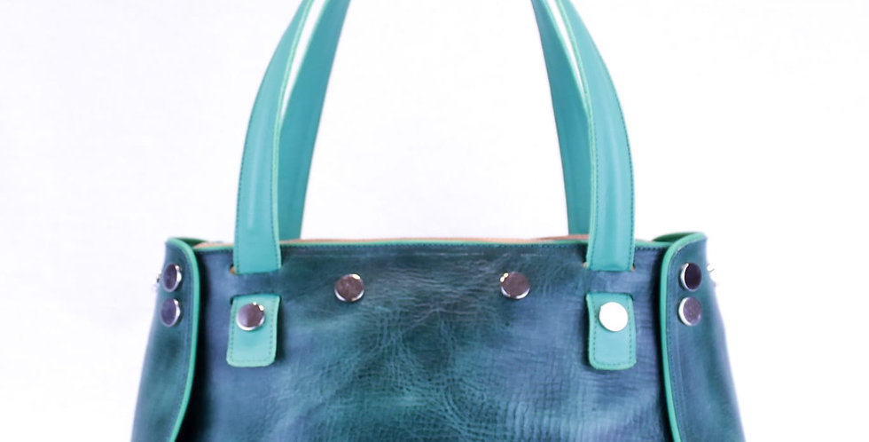 PattyBag  Pelle Verde small