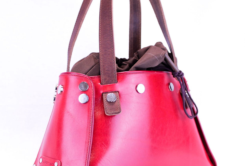 PattyBag  Pelle Rossa small