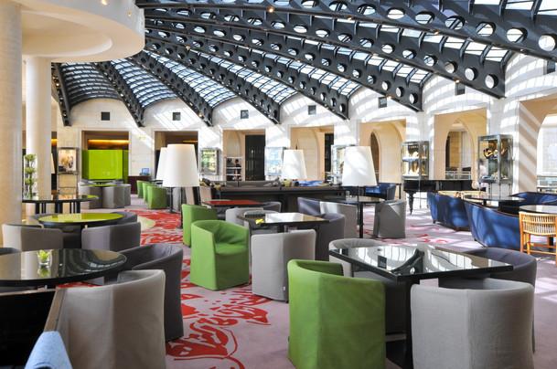 לובי מלון ממילא ירושלים