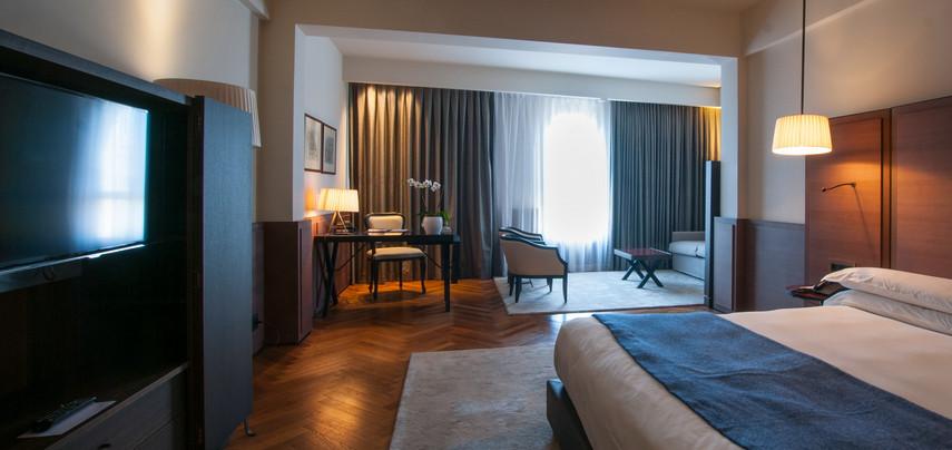 חדר שינה מלון ממילא ירושלים