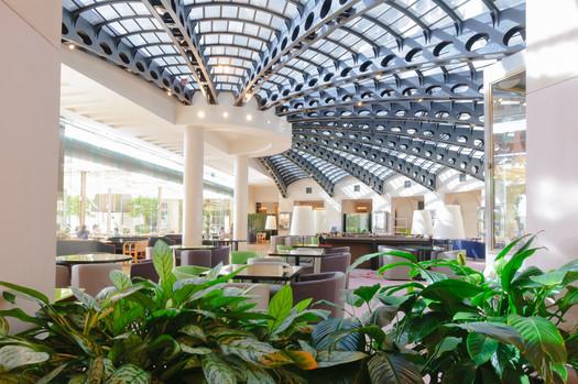 צילום לובי מלון ממילא ירושלים