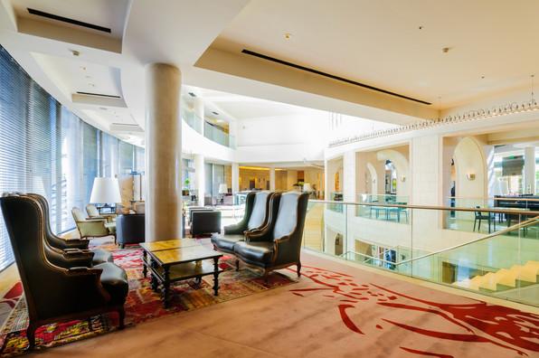לובי עליון, מלון ממילא ירושלים