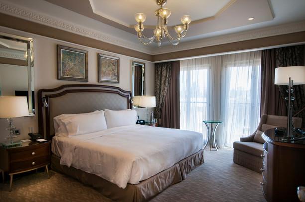 צילום חדר שינה, מלון וולדורף אסטוריה