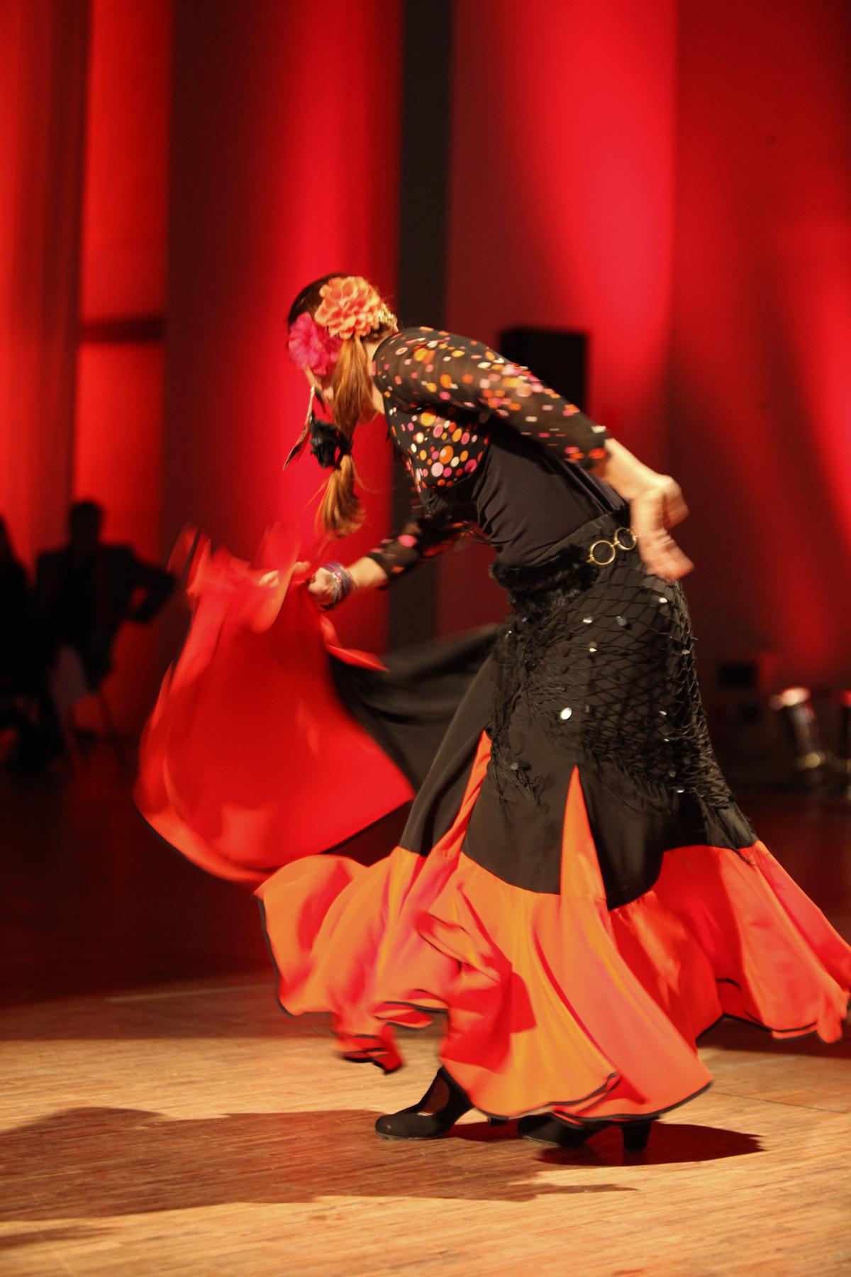 danseuse professionnelle
