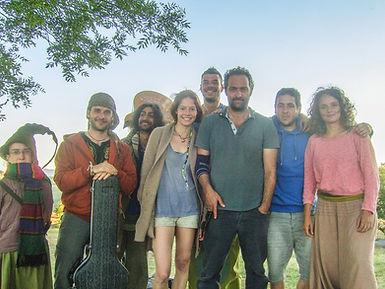 """Vie sauvage"" filme deCédric Kahn avecMathieu KassovitzetCéline Sallette, Figuration Franky Joe Texier, guitare flamenco rumba"