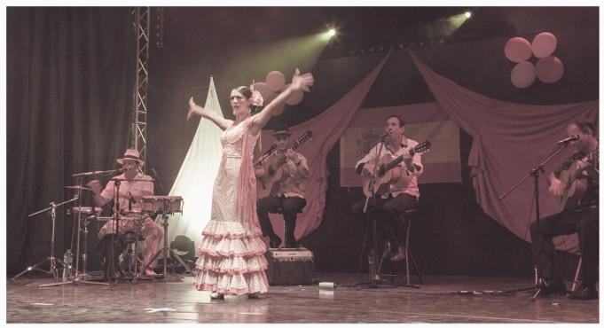 danseuse de flamenco, musicien pour mariage, lunch dinatoire, ambiance espagnole