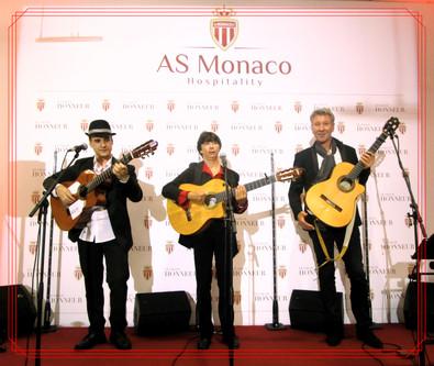 Musicien a Monaco - groupe flamenco