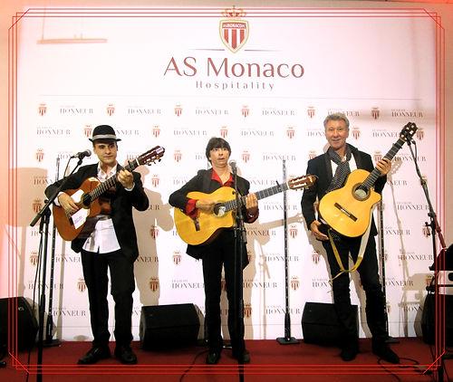 Musicien a Monaco - groupe flamenco - possibilité danseuse espagnole