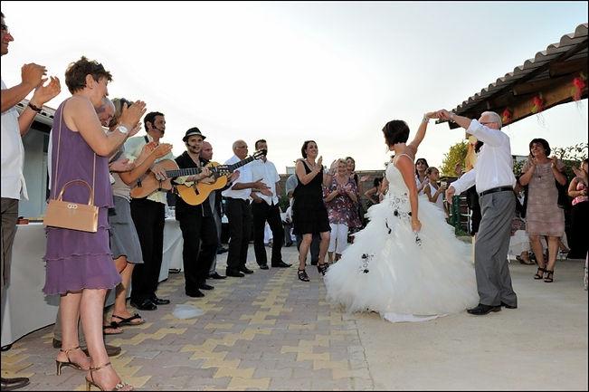 cocktail dinatoire, flamenco rumba, franky joe texier, animation pour mariage, guitaristes