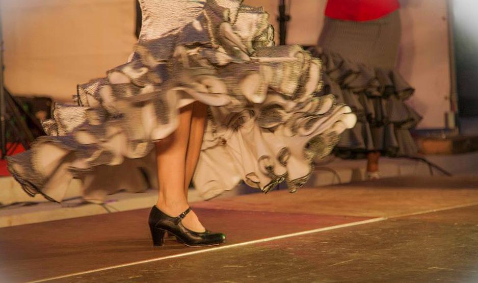 danseuse de flamenco guitariste groupe