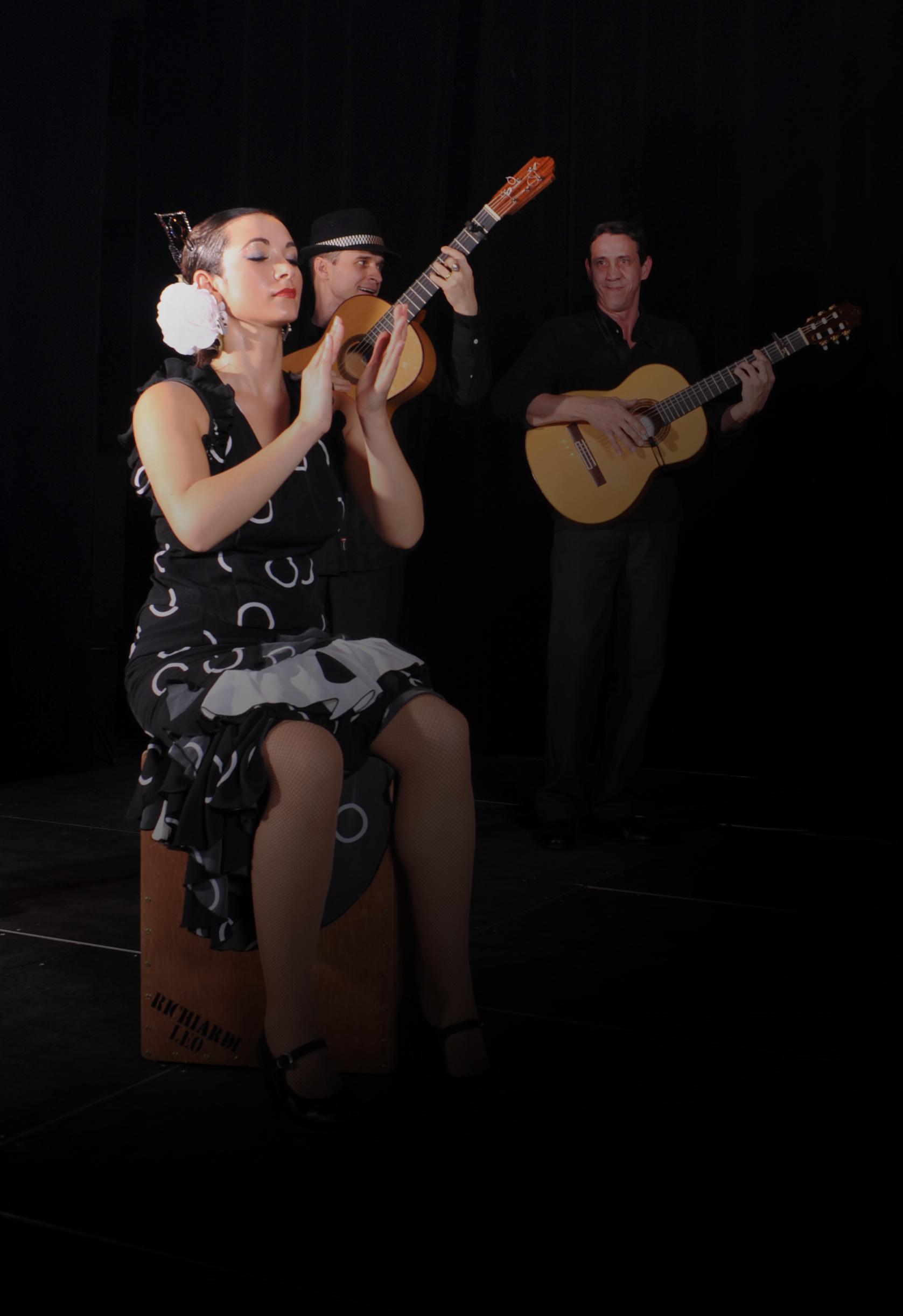 Groupe flamenco rumba animation