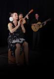 danseuse flamenco et musicien