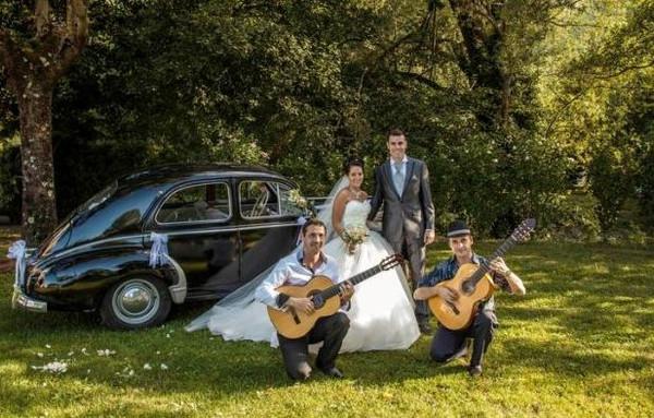 groupe de musique pour mariage, flamenco rumba, guitariste, chanteur, danseuse,