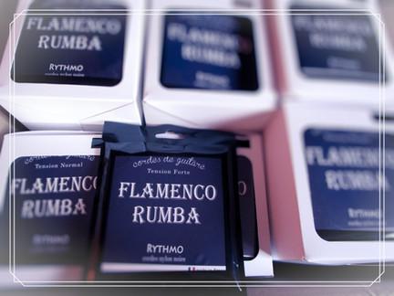 flamenco rumba, corde de guitare classique nylon