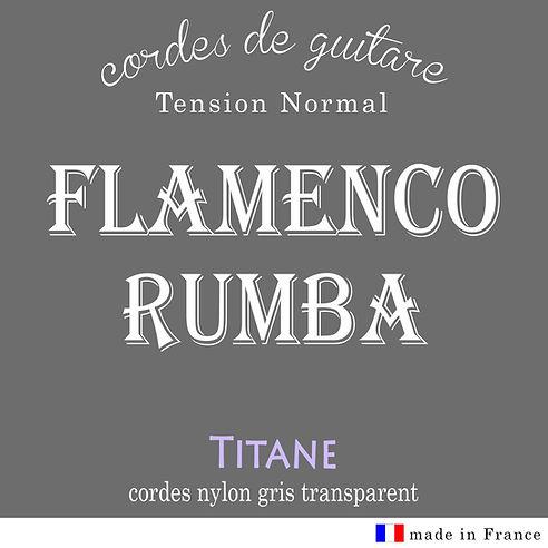 vente de cordes de guitare flamenco, nylon