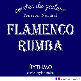 Rythmo - cordes nylon noire