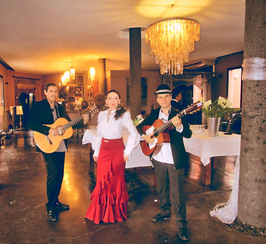 groupe gipsy pour mariage - guitariste - musicin avec danseuses ESPAGNOLE - animation