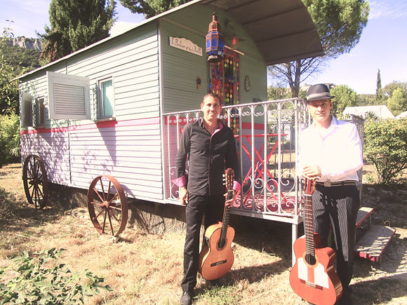 Groupe de musique flamenco gipsy - anima
