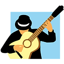 Logo Franky Joe Texier - flamenco rumba